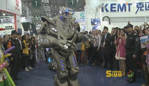 2015年第16届深圳机械展在深圳会展中心召开,机器人泰坦闪亮登场,并成为展会亮点,其中在展会期间,泰坦机器人在会展进行巡演,成为本届机械展智能机械展的热点之一。